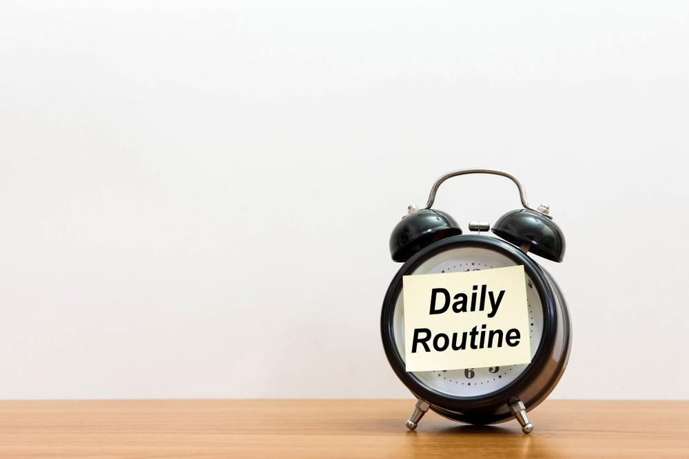 mental health routine